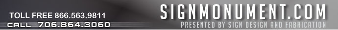 SignMonument.com home page